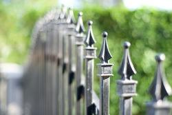 Metal fashion fence