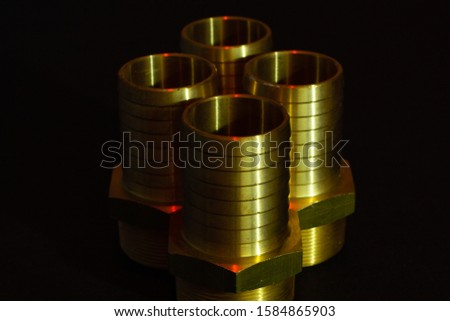 Metal fittings for industrial piping #1584865903