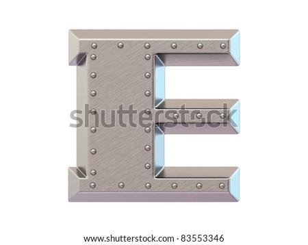 Metal font sign dollar