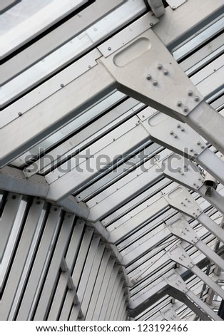 metal frame structure technology abstract