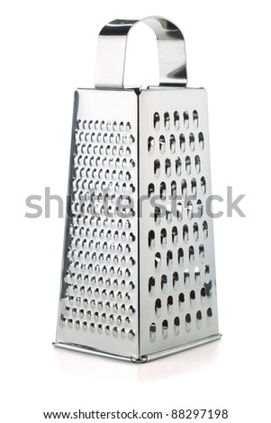 Metal grater. Isolated on white background