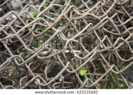 metal grid  #623135681