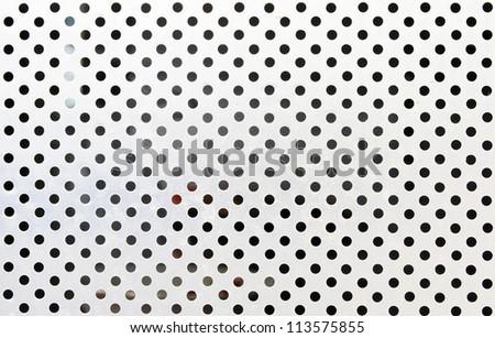Metal grid background,circle style.
