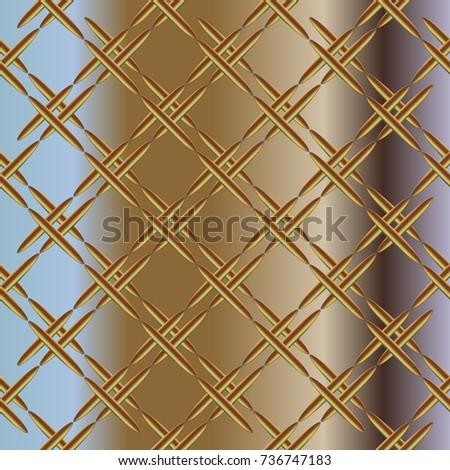 Metal grid pattern for design colorfull backdrop.