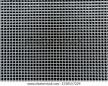 metal grill or metal gate background texture