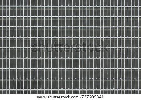 Metal grille texture #737205841