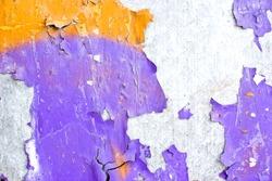 Metal grunge peeling paint texture.