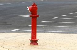 metal high pressure water fire hydrant
