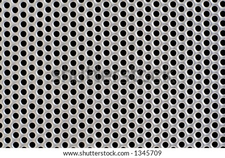 metal hole background (Speaker)