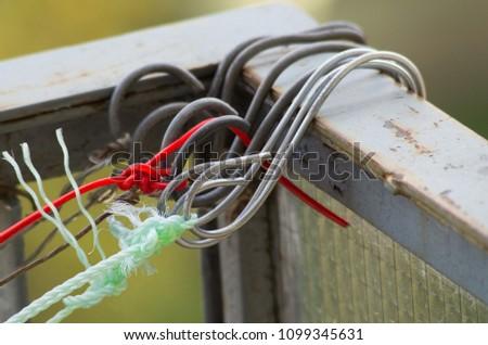 Metal hooks hooked #1099345631