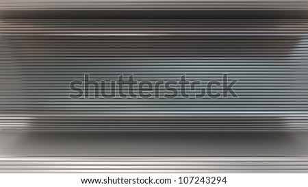 metal horisontal background - stock photo