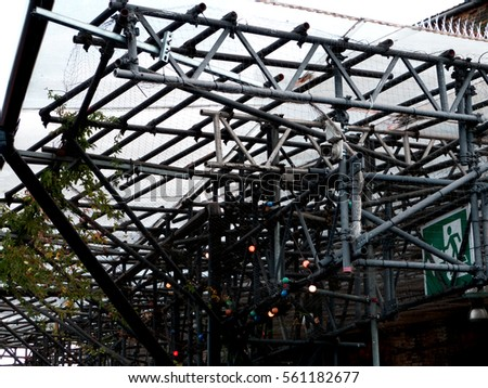 metal iron structure #561182677