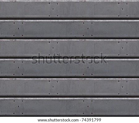 metal jalousie, venetian blind seamless background pattern - stock photo
