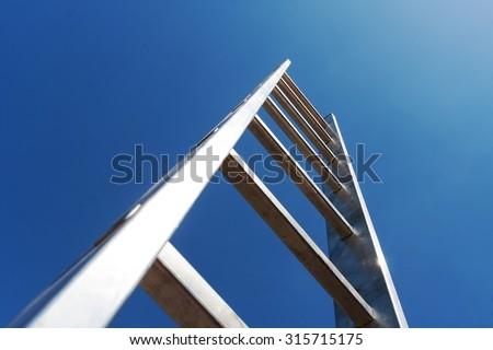 Metal ladder #315715175