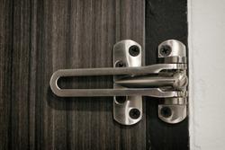 Metal Latch door guard ,Security Latch swing door lock household equipment.
