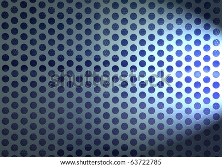 Metal Mesh Side Lighted. Stock Photo 63722785 : Shutterstock