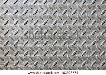 Metal, patterned background