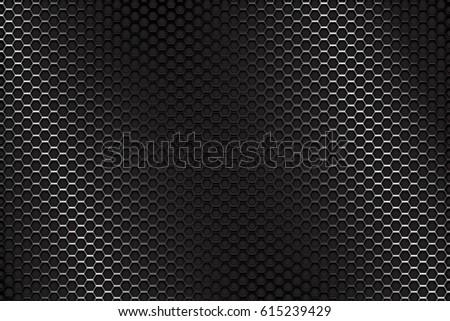 Metal perforated background. 3d illustration. Raster version