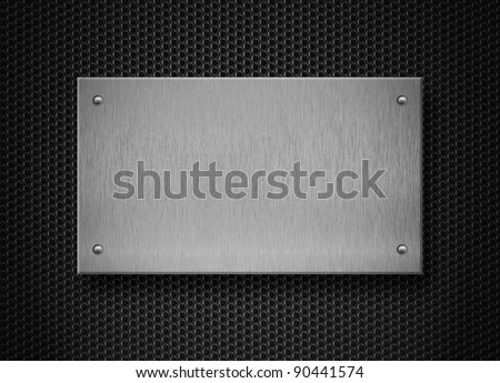 metal plate industrial background