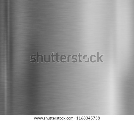 Metal plate texture background with brushed steel surface #1168345738