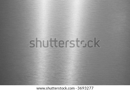 metal plate texture with reflection of light