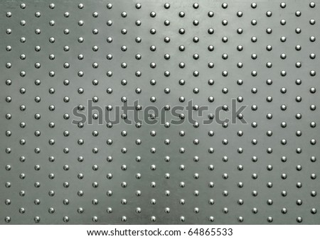 metal plate with dot pattern