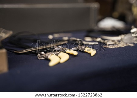 metal products on the neck with a pendant and without it #1522723862