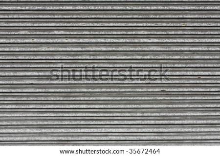 metal roller shutter door