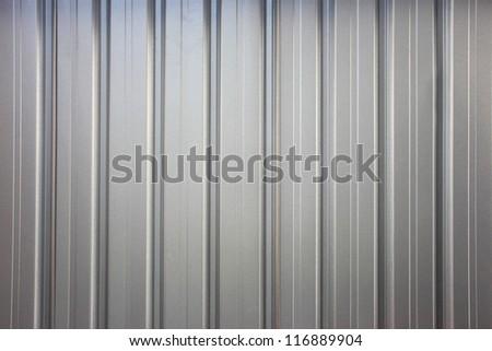 metal roof - stock photo