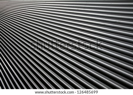 Metal roof abstract surface