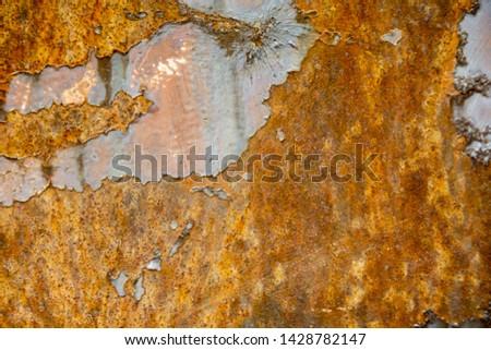 Metal Rust Background Metal Rust Texture, Rust - Image  #1428782147