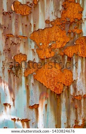 Metal Rust Background Metal Rust Texture, Rust - Image  #1433824676