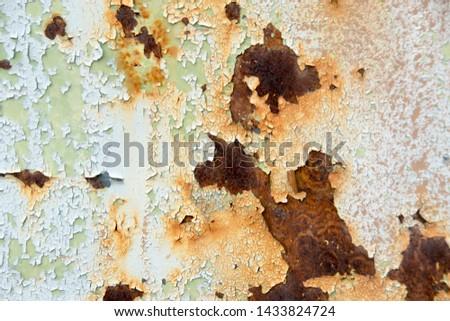 Metal Rust Background Metal Rust Texture, Rust - Image  #1433824724