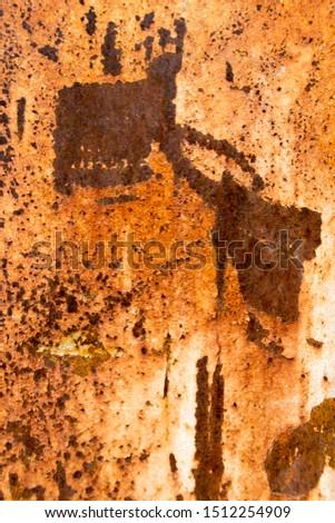 Metal Rust Background Metal Rust Texture, Rust - Image  #1512254909
