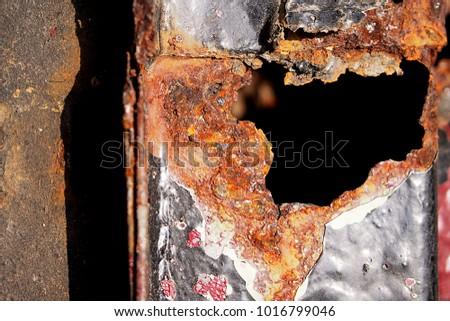 Metal Rust Background, old metal iron rust texture