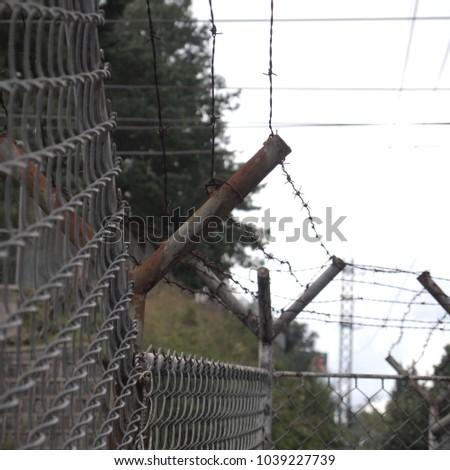 metal security grid #1039227739