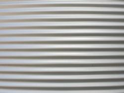 Metal sheet background from silo bin.
