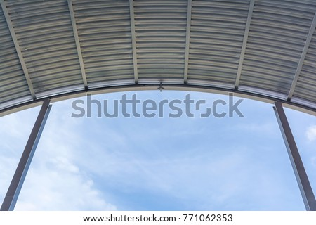 metal sheet roof dome #771062353
