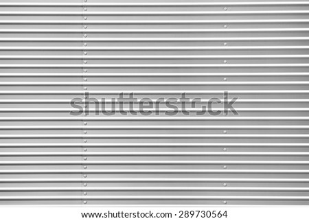 Metal sheet with bolts Foto stock ©