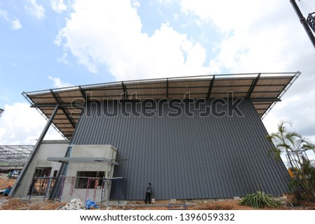 Metal sheets profile steel roofing panel construction material . #1396059332