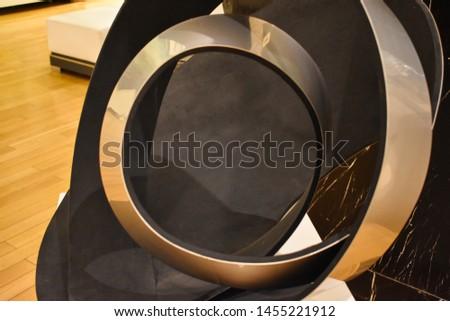 metal shiny object. Metal shiny background #1455221912