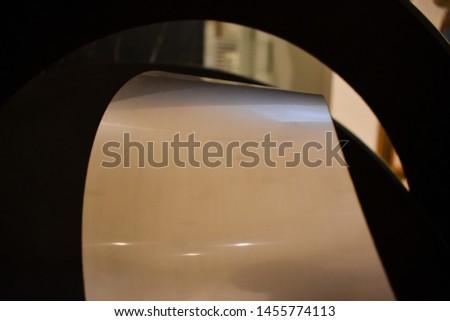 metal shiny object. Metal shiny background #1455774113