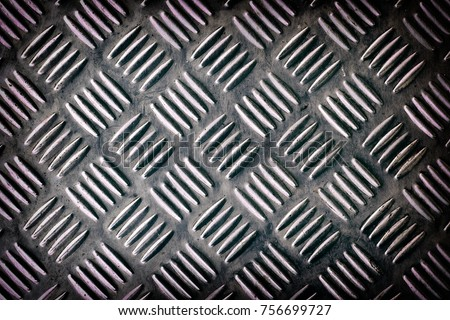 metal silver list with rhombus shapes #756699727