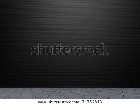 Metal stainless steel roll up door