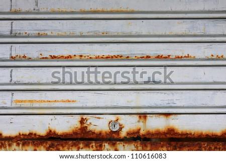 metal store roller shutter