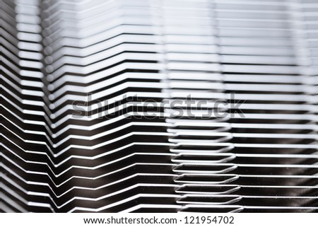 Metal stripe monochrome background