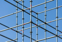 metal structure connection structures abstract background pattern