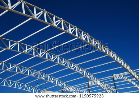 Metal structures for building #1150575923