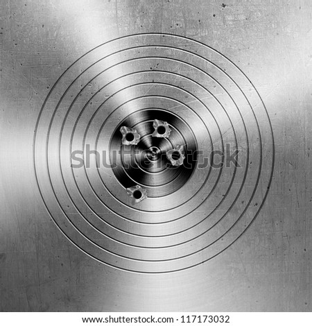 Metal targets background