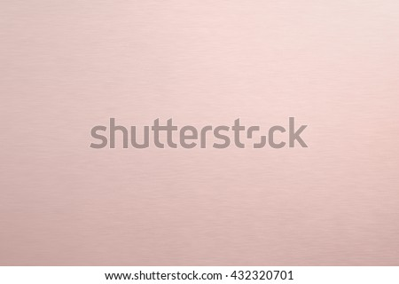 Metal texture background with rose gold.